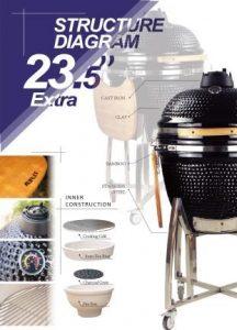 Standard Accessories 23,5 inch kamado